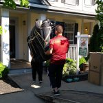 affordable movers Burnaby Signature Moving handling a couch